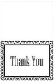 Free Printable Thank You Postcards Printable Thank You Cards Lovetoknow