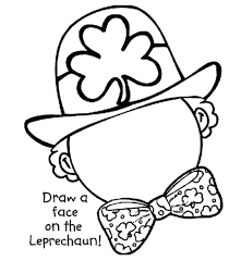 st patty s day coloring page printable