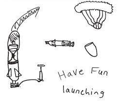 Best Parachute Design For Bottle Rocket How To Build A Bottle Rocket With A Parachute 14 Steps
