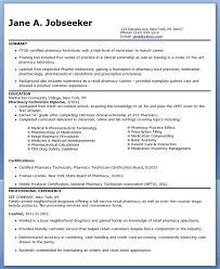 Pharmacy Technician Resume Entry Level