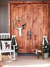 Idées De Décoration De Porte Du0027entrée De Noël : Idee Decoration Porte  Entree De
