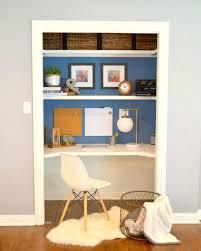 office desk diy. Diy Home Office Desk Closet Makeover Plans