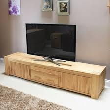 atlas chunky oak hidden home. Baumhaus Atlas Solid Oak TV Cabinet Chunky Hidden Home O