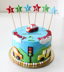 birthday cakes for boys cars. Modren For Car Theme 1st Birthday Cake And Cakes For Boys Cars