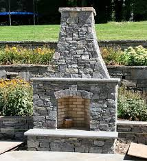 outdoor fireplace chimney designs