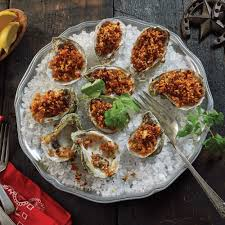 Chorizo Stuffed Oysters Recipe from H‑E‑B