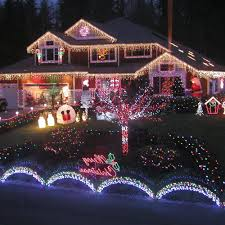 christmas house lighting ideas. Outdoor Lighted Christmas Decorations Wholesale Patio Decor Ideas Led Lighting Round Glass On It And Red For The House