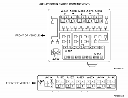 mitsubishi galant fuse diagram image question about relay positions on 2004 mitsubishi galant fuse diagram