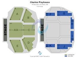 Charles Playhouse Seating Chart