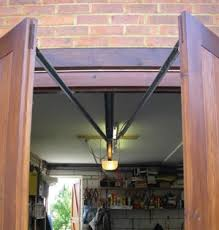 side hinged garage door operator system seip swing door kit