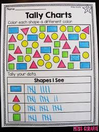 Teaching Tally Charts Tally Charts Worksheets And Activities For First Grade Or