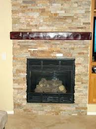 faux stone fireplace kits stacked stone veneer fireplace surround installing over tile
