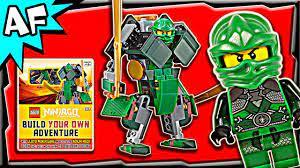 Lego Ninjago Lloyd's GREEN MECH - DK book: Build Your Own Adventure Review  - YouTube