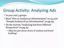 ads essay analyzing ads essay