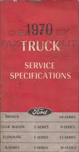 1970 ford b and f100 f750 series foldout wiring diagram 1970 ford truck service specs manual original