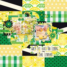Tinci Designs Makin Lemonade By Catherine Olson Pixel Scrapper Digital