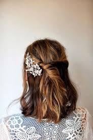 Meilleur De De Coiffure Mariage Cheveux Mi Longs Cheveux