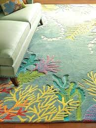 ocean themed rugs beach outdoor area