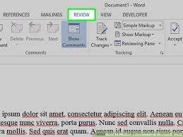 Word In Red How To Redline A Document In Microsoft Word With Pictures