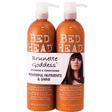 Bed head brunette godess
