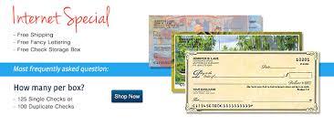 Order Checks Online Bank Check Printing Free Shipping