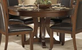 1205 54 dining table by homelegance in cherry w options bonaventure park 6p traditional cherry round pedestal