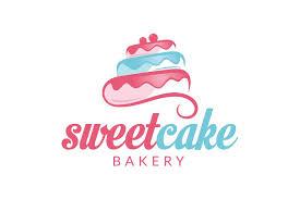 Sweet Cake Logo Logo Templates Creative Market