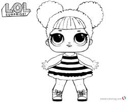 Lol Surprise Coloring Pages Queen Bee Free Printable Coloring Pages