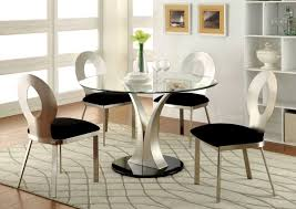 contemporary glass top dining tables modern glass top dining table