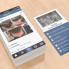barbershop business cards cool idea alert instagram inspired business cards by cool