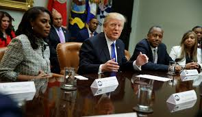 Image result for donald trump with black leaders