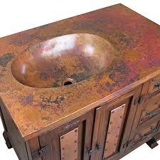 rustic pine bathroom vanities. Old Wood And Copper Bath Vanity Rustic Pine Bathroom Vanities U