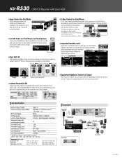 kdr bluetooth jvc kd r printer friendly specs