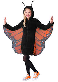 Cozy Wings Size Chart Girls Cozy Monarch Costume