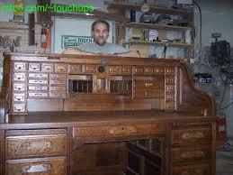 antique roll top desk plans