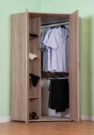 office in a wardrobe. Chester Standard Corner Wardrobe, With Sonoma Light Oak Option M1170 Office In A Wardrobe