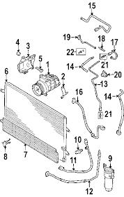 parts com® volkswagen repair kit partnumber 6q0298260 2006 volkswagen phaeton w12 w12 6 0 liter gas condenser compressor lines