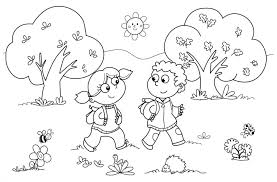 Collection Coloring Pages For Book Report For Kindergarten Pictures