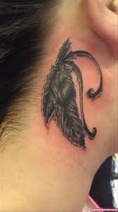 Dream Catcher Tattoo Behind Ear Phoenix Feather Tattoo Behind Ear Tattoo Viewer 72