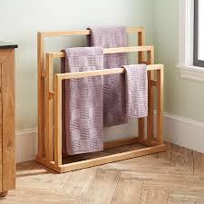 standing towel rack. DIY Free Standing Towel Rack Design