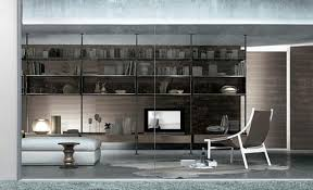 Cool And Modern Bookcase Plans Wall Units Zenit Liberia Design