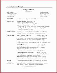 Accounting Resume Format Free Download Resumeemplate Accountant Cv Word Download Professional Sample Free 10