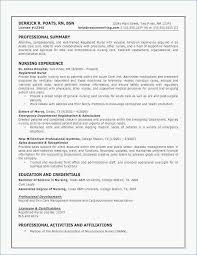 Sample Resume Nurse Cool Sample Resume For Nurses New 48 Printable Healthcare Resume Examples