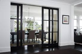 french door shades dining room transitional with white wood contemporary chandeliers