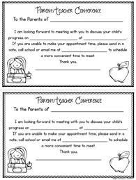 parent teacher conference letter to parents examples parent teacher conference form magdalene project org