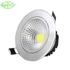 highlight recessed led downlight cob 3w led spot light dimmable led decoration ceiling lamp ac 110v