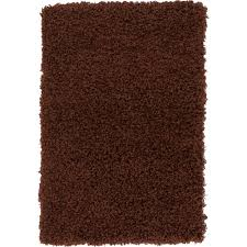unique loom solid chocolate brown 2 2 x 3 rug