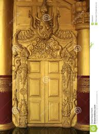 beautiful architecture of ancient gold door stock photo image of palace civilization