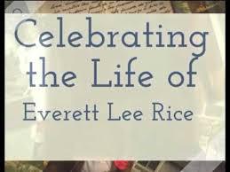 Everett Rice - YouTube