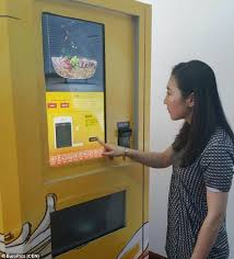 Noodle Vending Machine For Sale Simple World's First Beef Noodle Vending Machine Will Serve Up Hot Bowls In